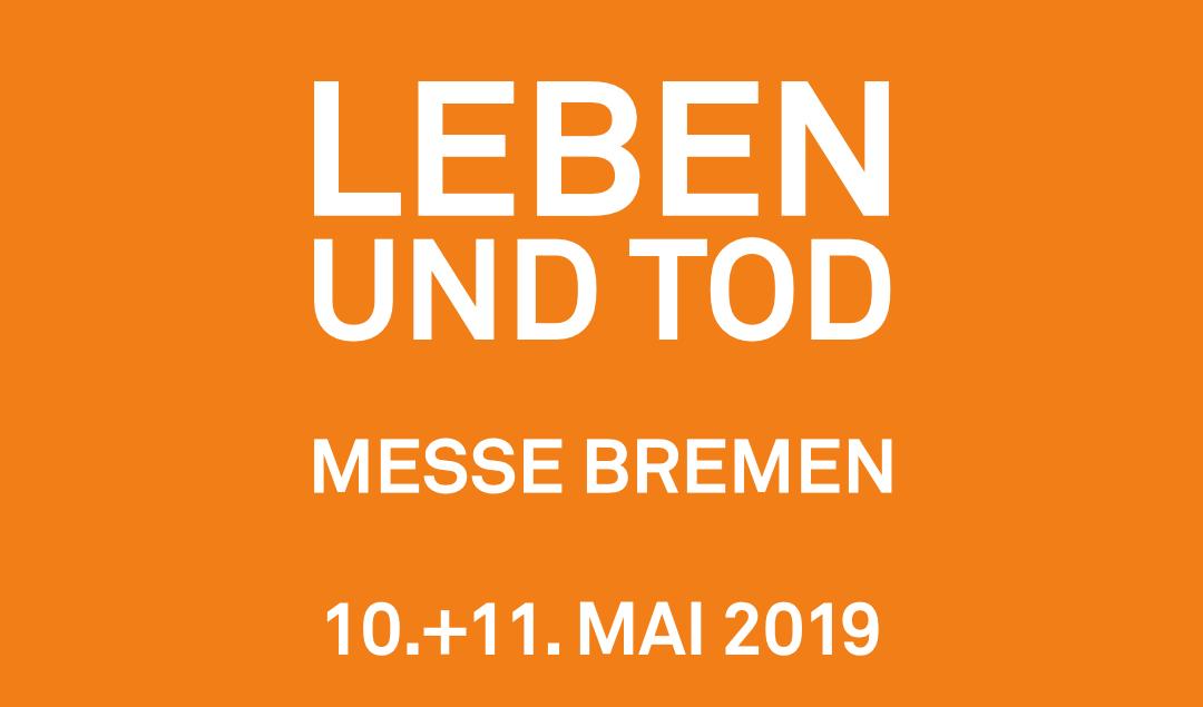 """KAO auf der Messe """"Leben und Tod"""" in Bremen am 10. + 11. Mai 2019"""