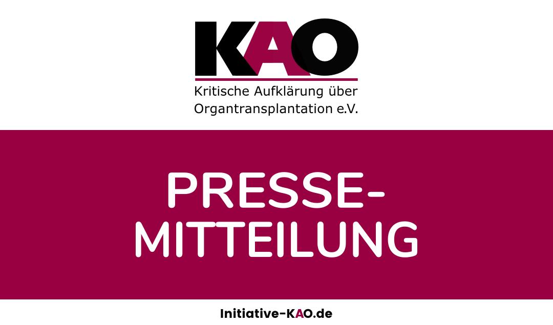KAO Pressemitteilung